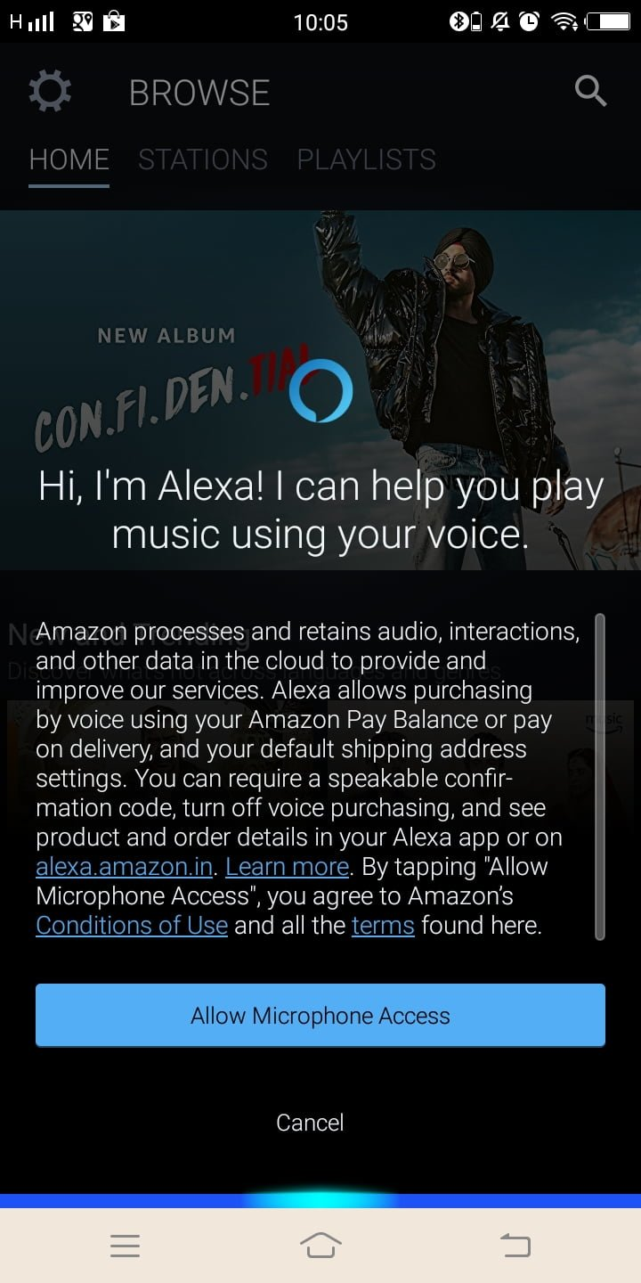 Amazon Prime Music is now available for India with Alexa