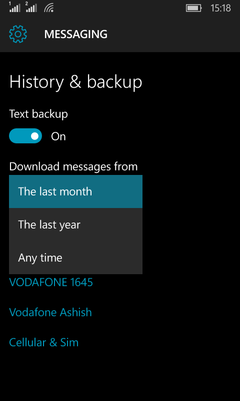 How to Backup and Restore Windows 10 Mobile including Photos
