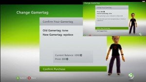 Change Gamertag by Paying MS Points