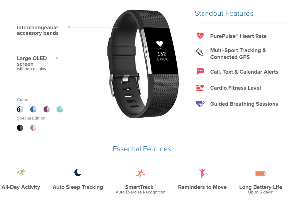 Fitbit Launches Charge 2 and Flex 2