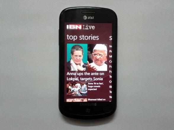 IBN Live Windows Phone
