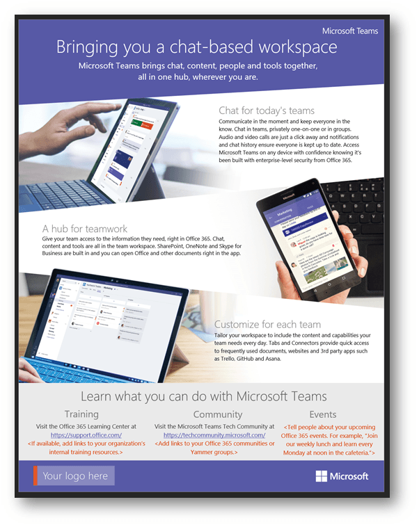 Microsoft Teams Promotion Shows