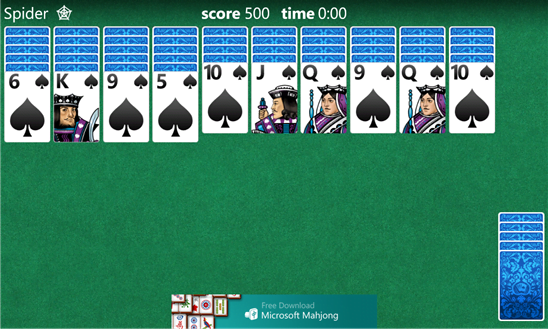 Microsoft Solitaire Collection for Windows Phone 8