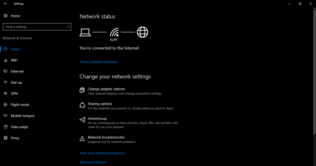Windows 10 Hotospot 1