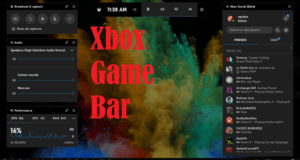 Game Bar Record Screen Windows 10
