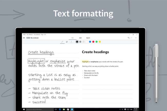 Nebo text formatiing