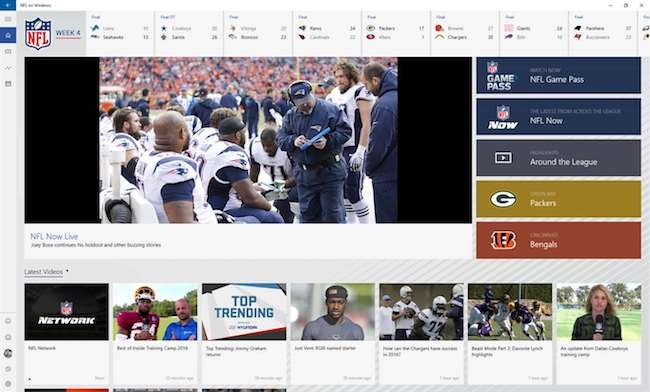 NFL on Windows
