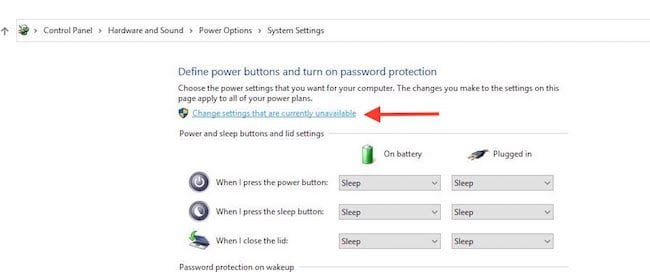 Change Plan of Current battery Plan